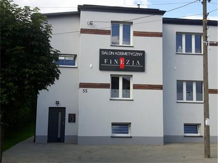 Budynek Salonu Kosmetycznego - Finezja Ewa Filak
